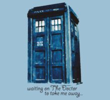 Waiting forthe Doctor... by fangeek