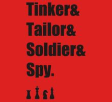 Tinker & Tailor & Soldier & Spy by SallySparrowFTW