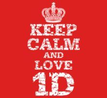 Keep Calm and Love 1D by mrtdoank