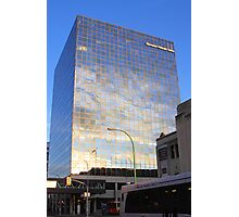 Reflections in Downtown Winnipeg Photographic Print