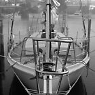 Sailboat on a Foggy Morning by Jan  Stroup ~ Photojournalist