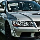 Mitsubishi Lancer Evolution by Steve Purnell