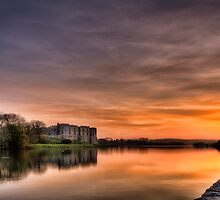 Carew Castle Sunset by Steve Purnell