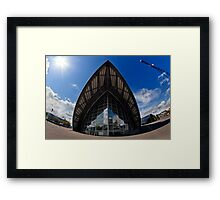 The Clyde Auitorium Framed Print