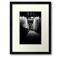 There aint no Trolls (Under the Bridge) Framed Print