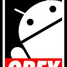 Obey the Android B by Yiannis  Telemachou