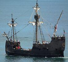 Pirate Ship Replica by AnnDixon