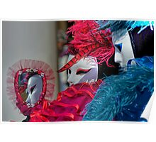 Venice - Carnival Mask 2012....01 - In the Mirror Poster