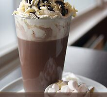 hot chocolate birthday greeting card by Moonlake