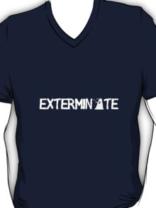 EXTERMINATE - White T-Shirt