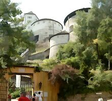 Kufstein Castle, Austria by fitandwell65