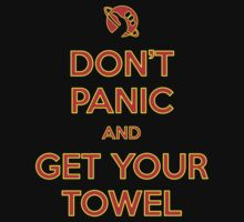 Don't Panic and Get Your Towel by Fazackerberry