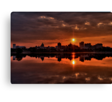 The Rising of a New Day Canvas Print
