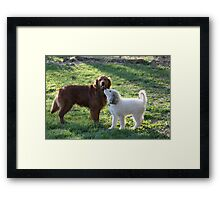 I Wuv You! Framed Print