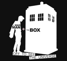 A Mad Man and his Box (dark textiles) by glassCurtain