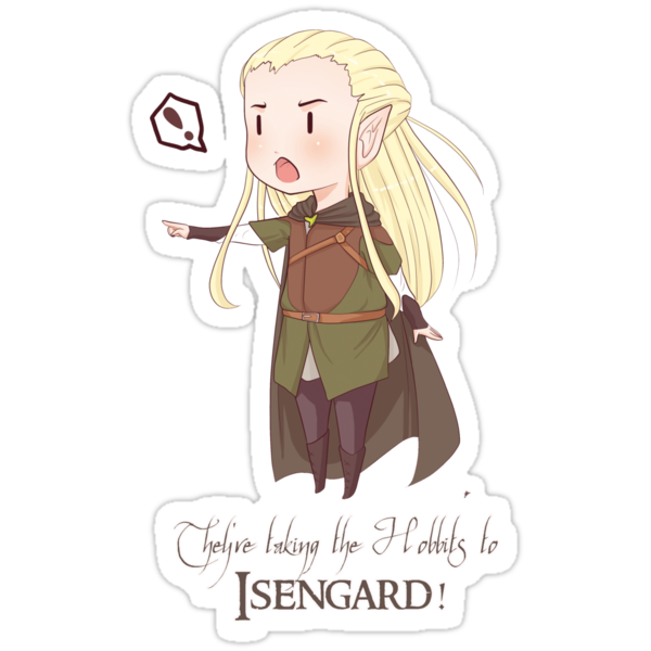 They're Taking the Hobbits to Isengard! by chiichanny