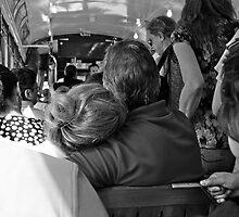 Love In A Crowded Streetcar   by Ainsley Kellar Creations