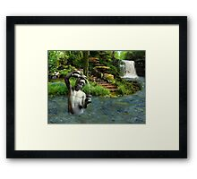 A Drink Of Life Framed Print