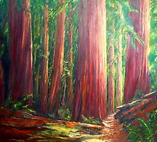 OLD GROWTH  I by Doria
