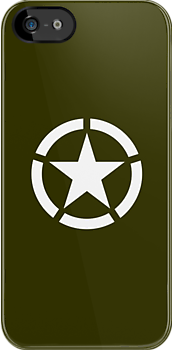 Army Green Allied Star by txjeepguy2