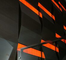 Wall inside Crown Casino - Melbourne by EdsMum