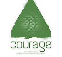 Forces - Courage Photographic Print