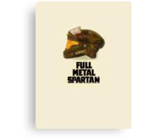 Halo: Full Metal Spartan Canvas Print