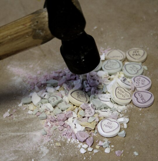 Broken Love Hearts by Rachel Blackburn