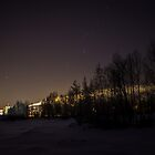 My City Under Orion by Matti Ollikainen