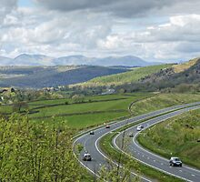 Rush Hour In The Lake District by Jamie  Green