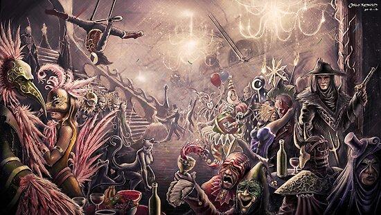Masquerade by CarloReynolds