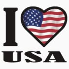 I LOVE USA by mcdba