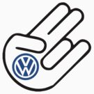 volkswagen vw logo shocker by ALEX55