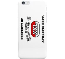 Elite 4 - Athletic Dept iPhone Case/Skin