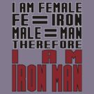 Female = Iron Man by PoppyL