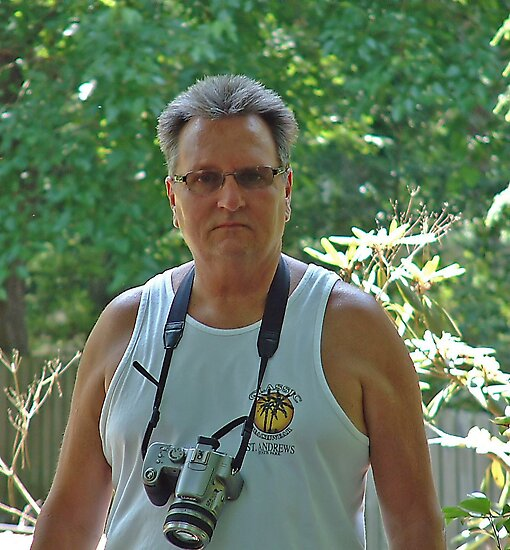 Rick & One of his Cameras by RickDavis