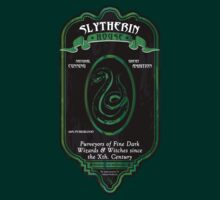 HOUSE SLYTHERIN - LABEL - BLACK by Mouan