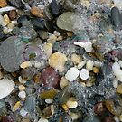 Beach Pebbles After A Storm by aussiebushstick
