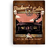 Buckner's Cabin Canvas Print