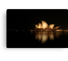 Mirror Image - Sydney Opera House Canvas Print