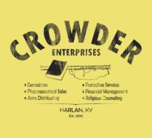 Crowder Enterprises (Black Distressed) by pixhunter
