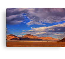 Rolling Clouds Blanket the Sky Canvas Print