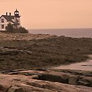 Prospect Harbor Lighthouse, Prospect Harbor, Maine by Mike Griffiths