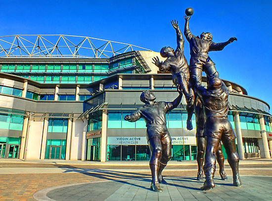 Twickenham Stadium - The Home of English Rugby - HDR by Colin J Williams Photography