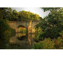 Teston Bridge Photographic Print