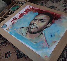Self Portrait - WIP by Eddy Aigbe
