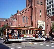 San Francisco Cable Car by Frank Romeo