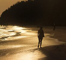 Ohm beach Gokarna by Sudheerhegde