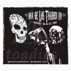 Dia de Los Toadies T-Shirt - Light Colors by [original geek*] clothing