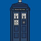Dr Who Police Box #1 by HighDesign